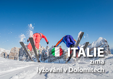 Itálie zima